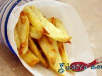 Τηγανιτές Πατάτες στον Φούρνο