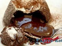 Ατομικά Κέικ Σοκολατένιας Λάβας